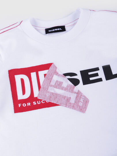 Diesel - TOQUEB MC-R, White - T-shirts and Tops - Image 3