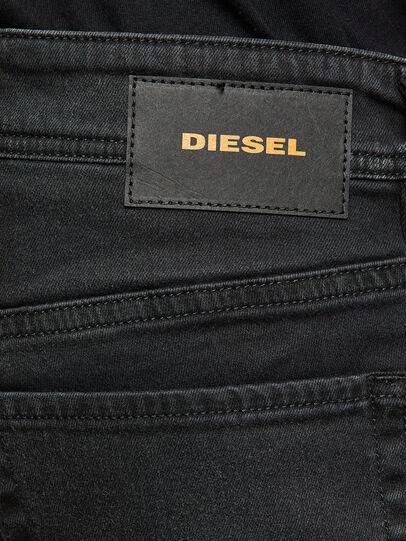 Diesel - Sleenker C69EQ, Black/Dark grey - Jeans - Image 4