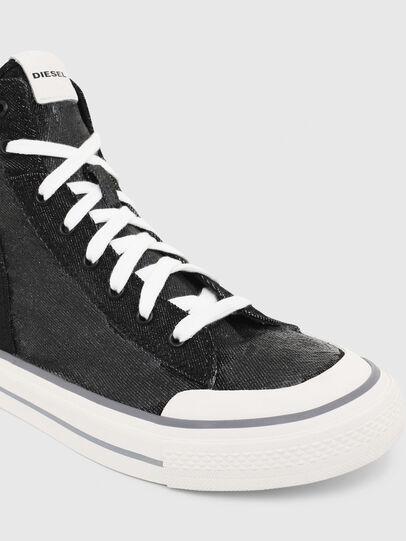 Diesel - S-ASTICO MID ZIP, Black - Sneakers - Image 4