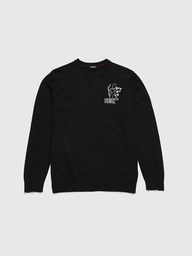 CL-K-DEBNAM, Black - Knitwear