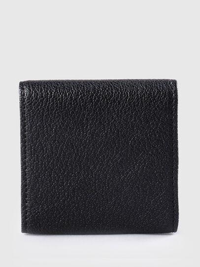 Diesel - KOPPER, Black Leather - Small Wallets - Image 2