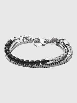 DX1239, Silver/Black - Bracelets