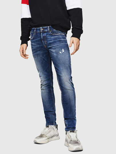 Diesel - Sleenker 069HQ, Medium blue - Jeans - Image 1