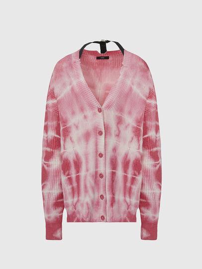 Diesel - M-INDIANA, Pink/White - Knitwear - Image 1