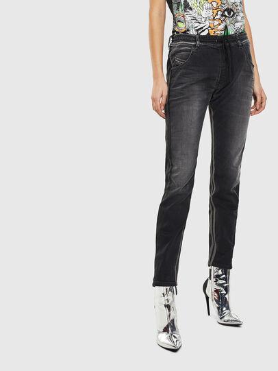Diesel - Krailey JoggJeans 0094Q, Black/Dark grey - Jeans - Image 1