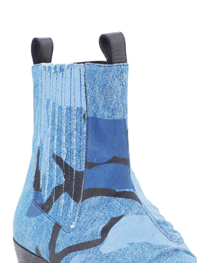 Diesel - SOCHELSEABOOT, Melange Blue - Boots - Image 5