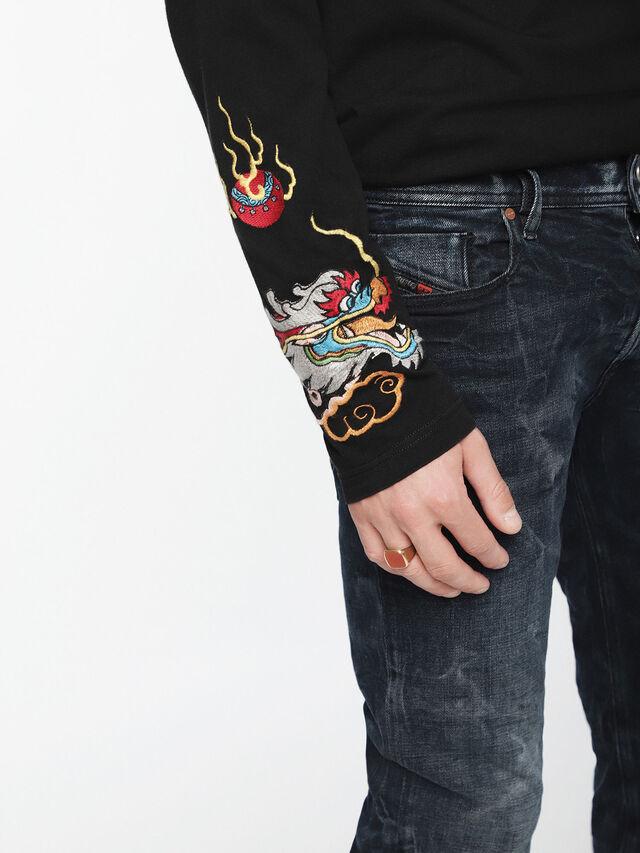 Diesel - Sleenker 084VR, Black/Dark grey - Jeans - Image 4