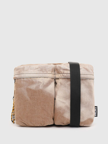 Convertible messenger with sun-faded effect