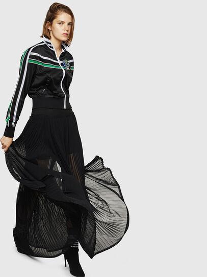 Diesel - O-TERUPE, Black - Skirts - Image 6