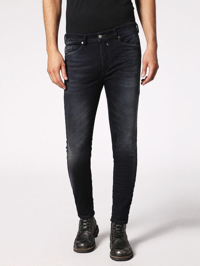 Diesel Spender JoggJeans 0686F, Dark Blue - Jeans - Image 1