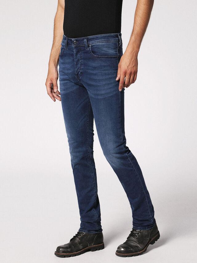 Diesel - Buster 0675L, Dark Blue - Jeans - Image 7