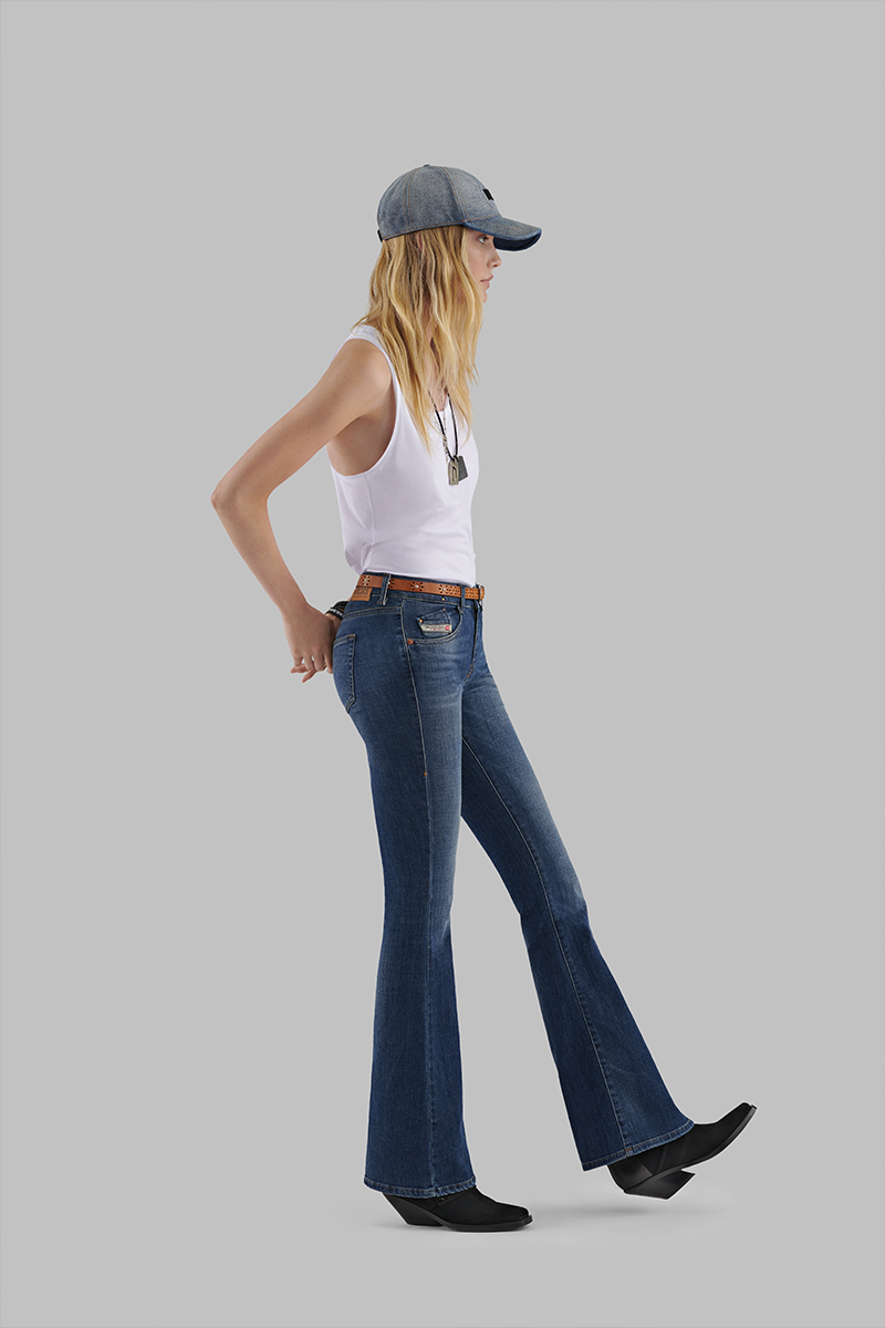 Diesel Bootcut Jeans Woman