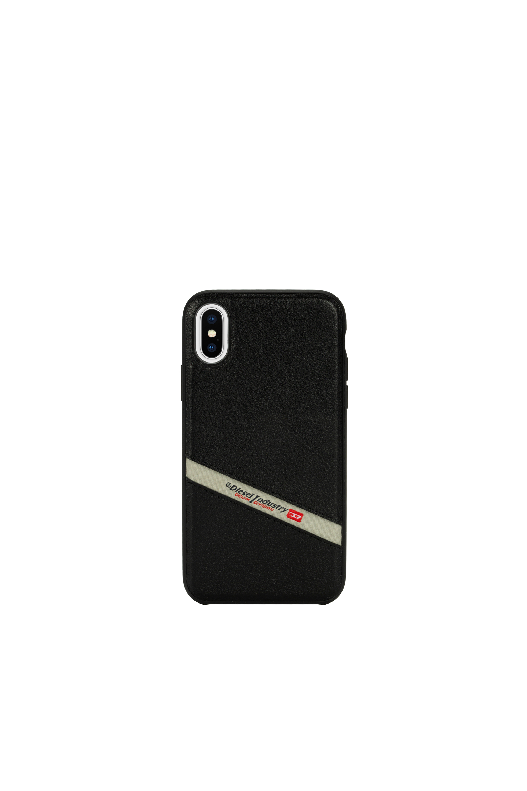 Diesel - DIESEL LEATHER CO-MOLD CASE FOR IPHONE XS & IPHONE X,  - Cases - Image 4