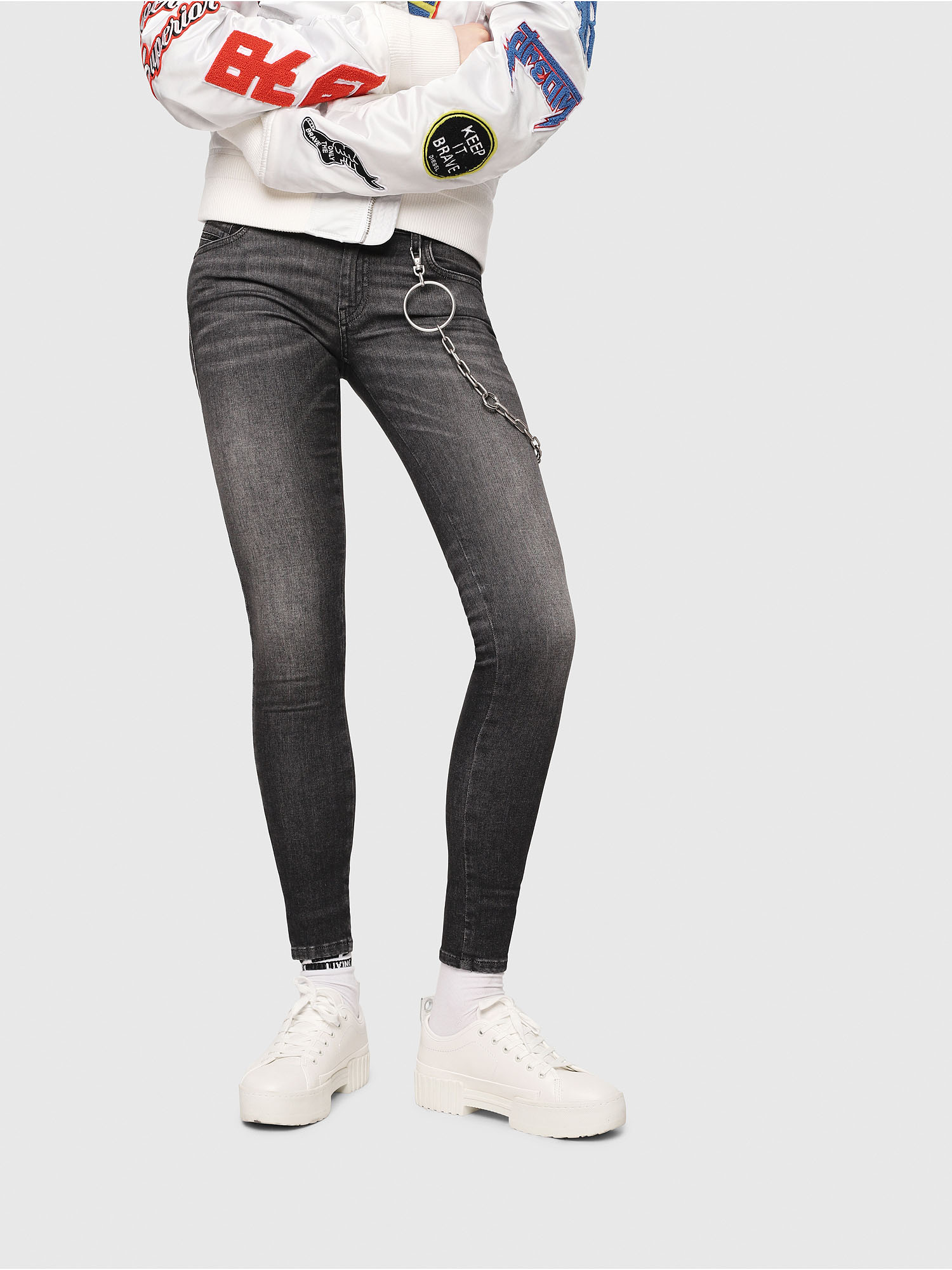 Diesel - Slandy Low 088AS,  - Jeans - Image 1
