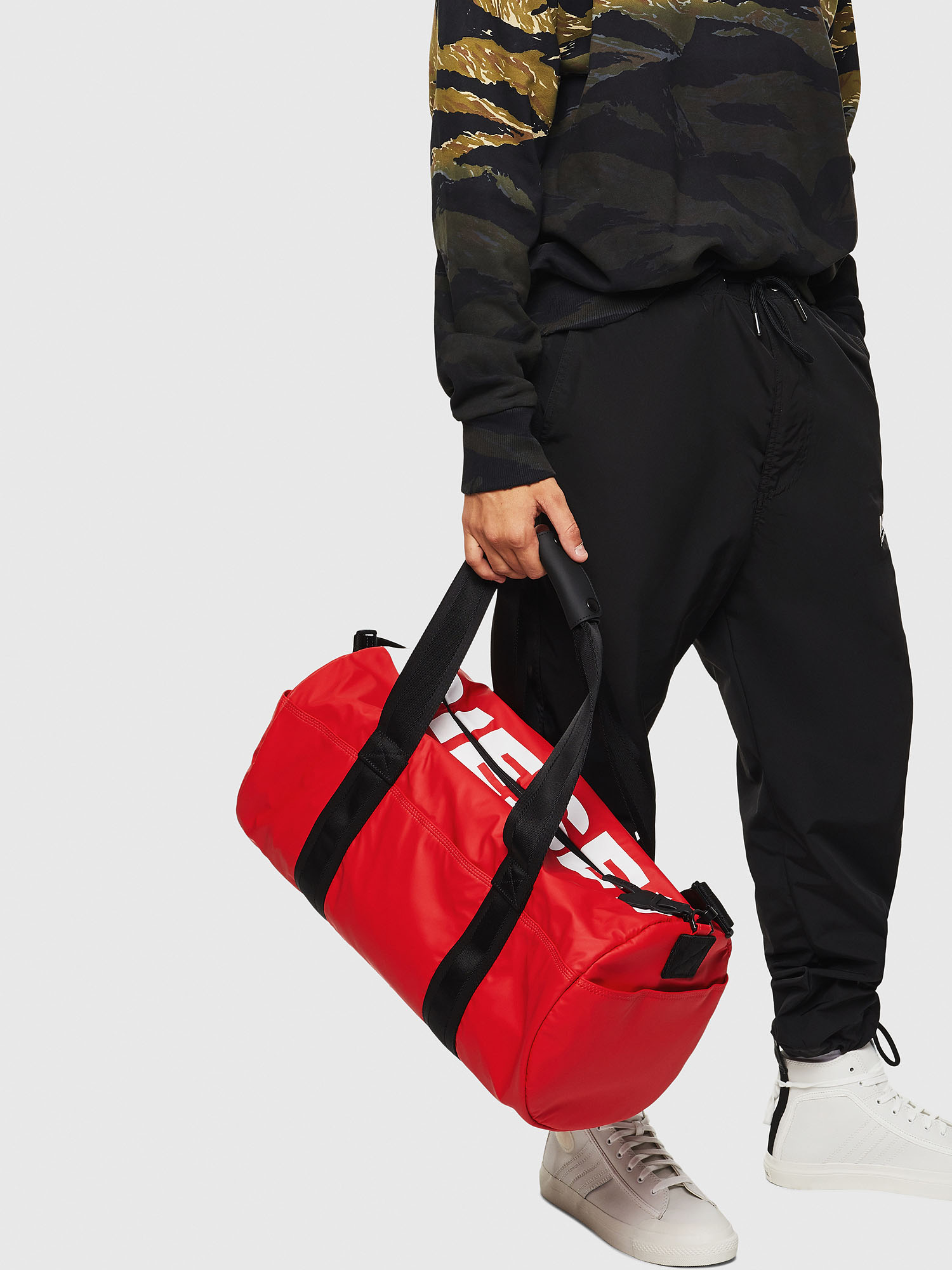 Diesel - F-BOLD DUFFLE,  - Travel Bags - Image 6