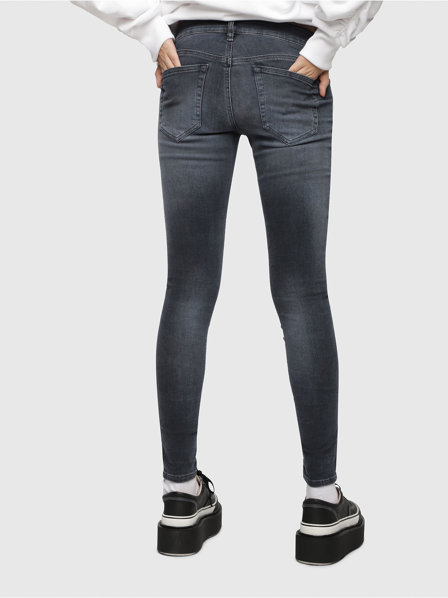 Diesel - Slandy Low 069BT,  - Jeans - Image 2