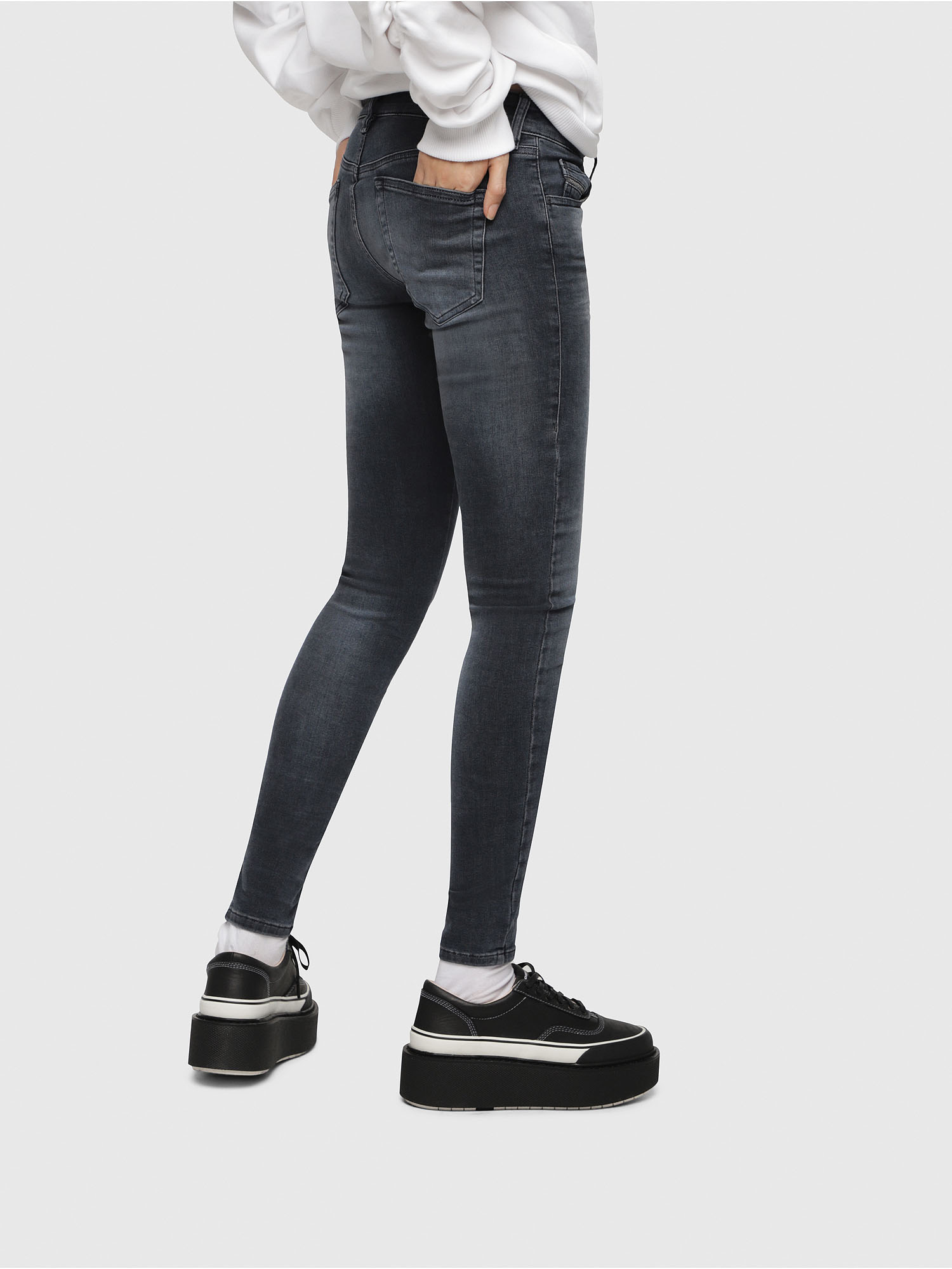 Diesel - Slandy Low 069BT,  - Jeans - Image 3